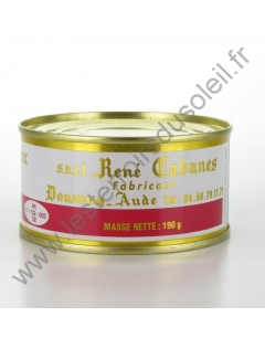 Pâté  de Foie Cabanes 190 Grs