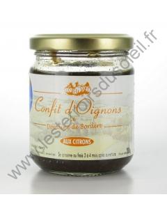 Confit d'Oignons aux Citrons Domaine de Bordère