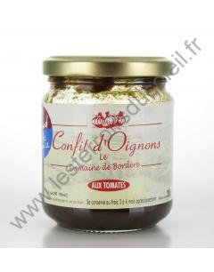 Confit d'Oignons aux Tomates Domaine de Bordère