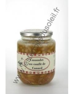 Cassoulet au Confit de Canard Aymeric