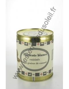 Haricots Blancs Cuisinés 820 Grs Conserverie Aymeric