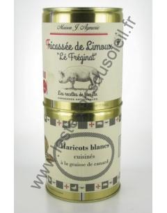 Fricassée de Limoux et Haricots Blancs Aymeric